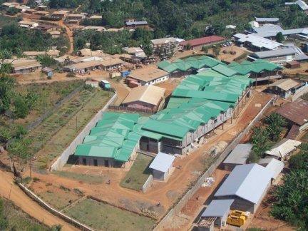 El Cardiac Centre en construcción